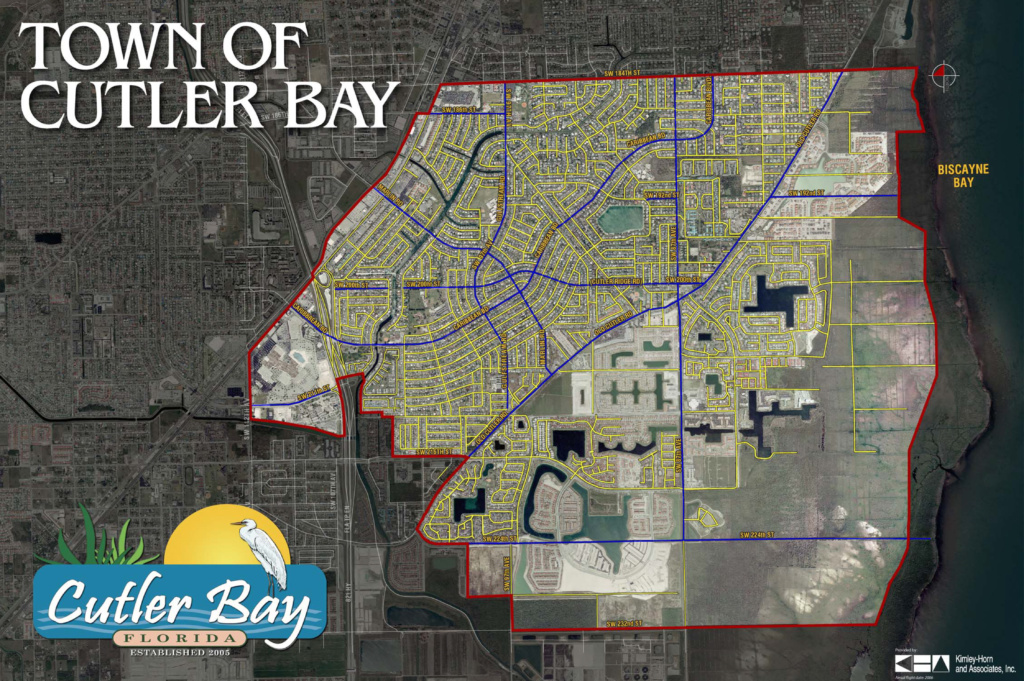 Cutler bay map photo buy sell